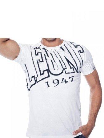 LEONE T-shirt biały M [LSM1730]