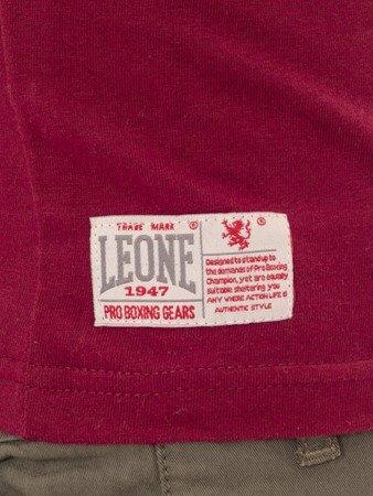 LEONE - TSHIRT [LSM1542_burgund]