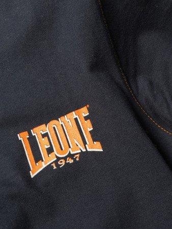 "LEONE - TSHIRT ""V"" [LSM1505_GRANATOWY]"