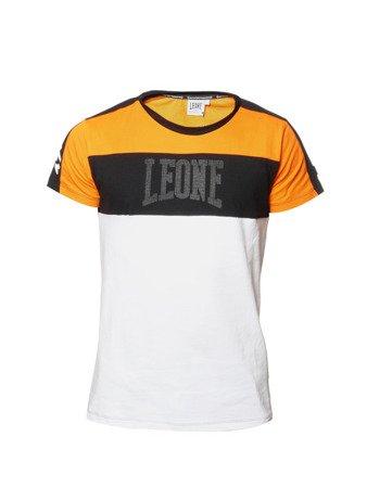 """LEONE - TSHIRT """"W.A.C.S"""" [LSM1518_pomarańczowy]"""