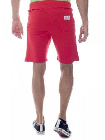 LEONE bermudy męskie czerwone M [LSM1661]
