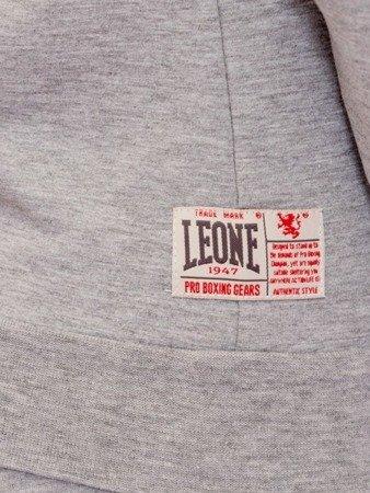 LEONE bluza damska z kapturem jasny szary melanż XS [LW1805]