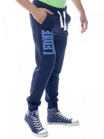 LEONE spodnie dresowe granatowe XL [LSM1660]