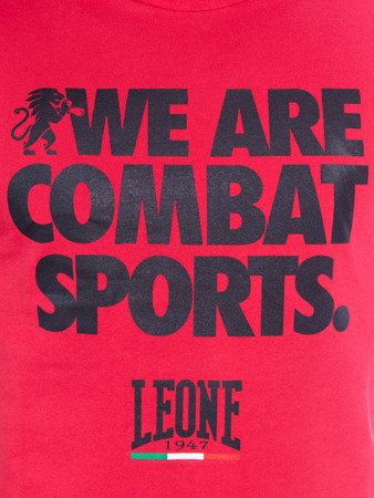 Leone - T-Shirt (CZERWONY)