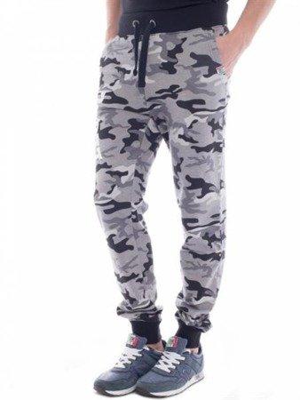 Leone - spodnie dresowe (Camo-szary)