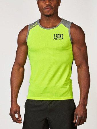 Leone1947 T-shirt bezrękawnik techniczny EXTREMA 2.0 żółty S [ABX02]