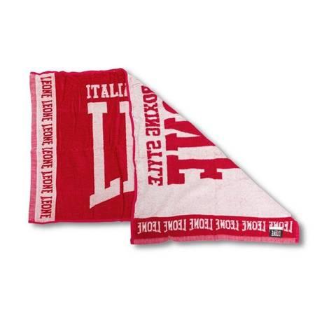 Leone1947 ręcznik ringowy czerwony [AC914]