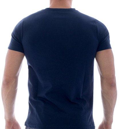 T-shirt granatowy
